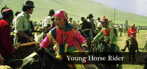 Young Horse Rider