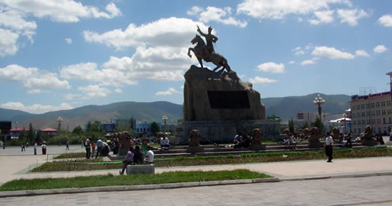 Photo of Sukhbaatar Square